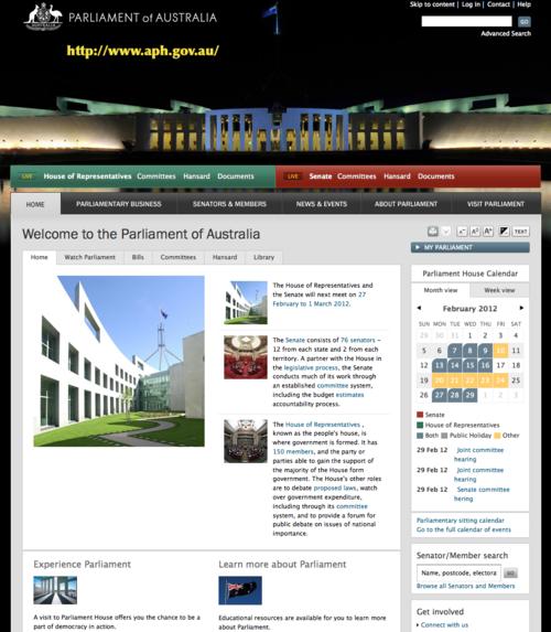 AUS-Parliament