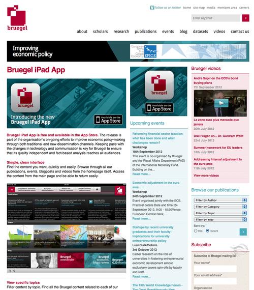 Bruegel-iPad-App
